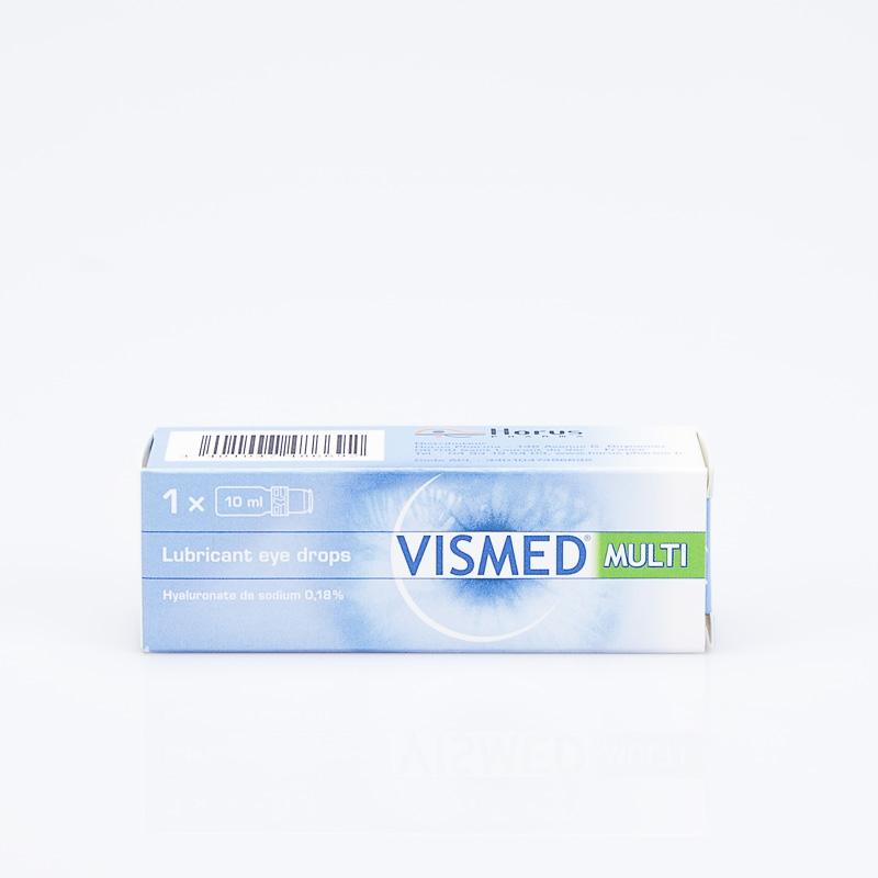 VISMED Multi Lubrifiant oculaire flacon (Hyaluronate de sodium 0 18%) -  Mon-armoire-a-pharmacie com