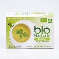 BIO Nutrisanté Mélisse 20 infusions