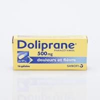 DOLIPRANE 500mg  bte 16 gél  (Paracétamol)