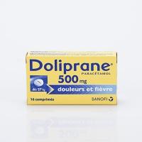DOLIPRANE 500mg  bte 16 cp  (Paracétamol)
