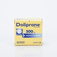 DOLIPRANE 500mg  bte 16 eff  (Paracétamol)