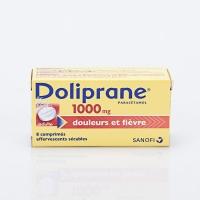 DOLIPRANE 1000mg 8cp eff (Paracétamol)