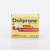 DOLIPRANE 1000mg 8 sachets (Paracétamol)