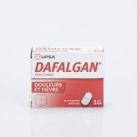 DAFALGAN 1g 8 cp (Paracétamol)