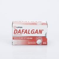 DAFALGAN 1g 8 cp eff (Paracétamol)