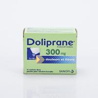DOLIPRANE 300mg  bte 12 sachets  (Paracétamol)