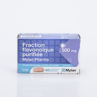 FRACTION FLAVONOIQUE PURIFIEE 500mg 60 cp ( Fraction flavonoïque purifiée)