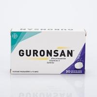 GURONSAN 30 cp eff (Glucuronamide,Vitamine C, Caféine)