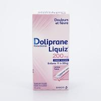 DOLIPRANE LIQUIZ 200mg 12 sachets  (Paracétamol)