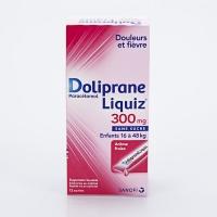 DOLIPRANE LIQUIZ 300mg 12 sachets  (Paracétamol)
