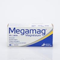 MEGAMAG 45mg 120 gél (Magnésium)