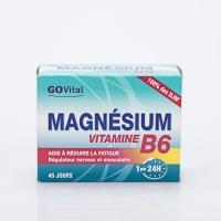 GOVITAL Magnésium/vit b6 45 cp (Magnésium,vitamine b6)