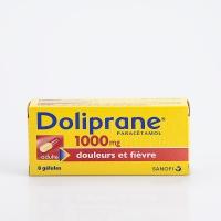 DOLIPRANE 1000mg 8 gél (Paracétamol)