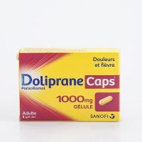 DOLIPRANE CAPS 1000mg 8 gél (Paracétamol)