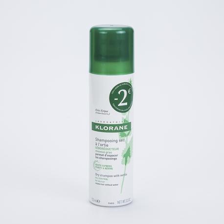 KLORANE Shampooing sec a l'ortie 150ml