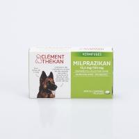 CLEMENT THEKAN Milprazikan Chiens de plus de 5 kg 2 comprimés