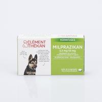 CLEMENT THEKAN Milprazikan Chiots et Petits Chiens de 0,5 kg à 10 kg 2 comprimés