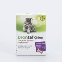 BAYER Drontal Chien 2 comprimés