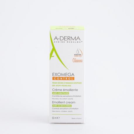 A-DERMA CONTROL Crème émolliente 50 ml