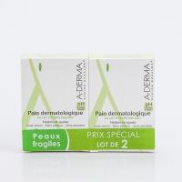 A-DERMA Pain Dermatologique 2x100 g