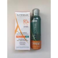 A-DERMA PROTECT AC Fluide matifiant très haute protections SPF 50+ 40 ml + 1 Gel moussant Phys AC OFFERT