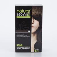 NATURE ET SOINS Coloration 6N Blond Foncé Santé Verte