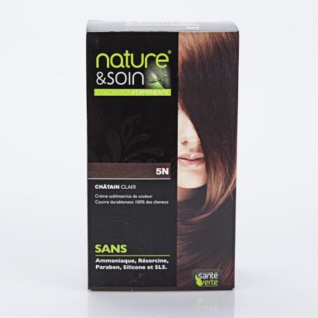 NATURE ET SOIN Coloration 5N Santé Verte