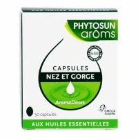 PHYTOSUN AROMS Aromadose Nez Gorge 30 Capsules