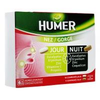 HUMER Nez/Gorge Jour et Nuit  15 Comprimés