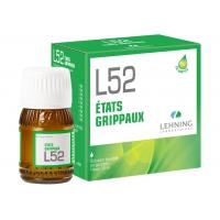 LEHNING L52 Etats Grippaux Solution Buvable 30ml
