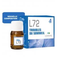 LEHNING L72 Troubles du Sommeil Solution Buvable 30 ml