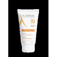 A-DERMA PROTECT Crème SPF 50+ Sans parfum  40 ml