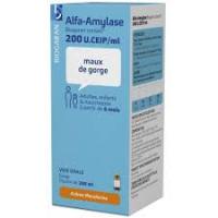 ALFA AMYLASE Biogaran sirop 200 ml (Alfa-amylase)
