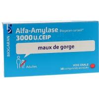 ALFA AMYLASE Biogaran 18 cp (Alfa-amylase)