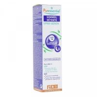 PURESSENTIEL Sommeil Détente Spray Aérien 200 ml + 1 Rollon Stress Offert