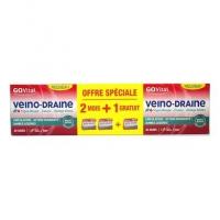 GOVITAL Veino-Draine 2 Mois + 1 OFFERT