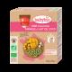 Babybio Gourdes Fruits Kiwi, Mangue et Lait de Coco dès 6 mois 4x90g
