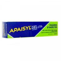APAISYL Gel Piqûres d'insectes (Chlorhydrate d'isothipendyl)  30g