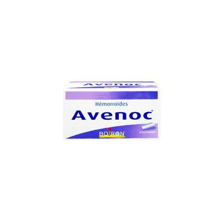 Boiron Avenoc Hémorroïdes 10 Suppositoires