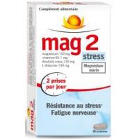 Mag 2 Stress ( Magnésium marin 150 mg ) 30 comprimés