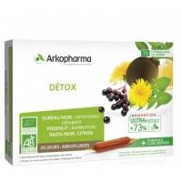 Arkofluides Détox Bio 20 ampoules