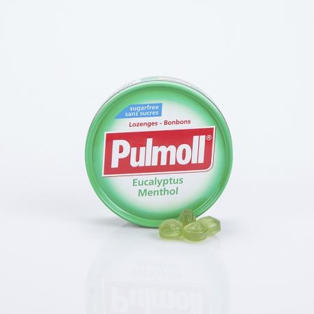 Pulmoll Eucalyptus Menthol S/S Pastilles Mal de gorge 75g
