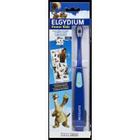 ELGYDIUM Power Kids Brosse à Dents Electrique L'Age de Glace + 4 ans Bleu