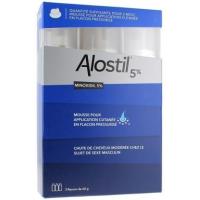 ALOSTIL 5% 3 flacons de mousse (Minoxidil)