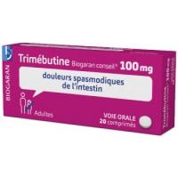 TRIMEBUTINE 100mg Biogaran conseil 20 cp (Trimébutine)
