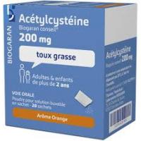 ACETYLCYSTEINE 200 mg Biogaran 20 sachets ( Acétylcystèine)