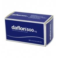 DAFLON 500mg 120 cp ( Fraction flavonoïque purifiée)
