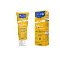 MUSTELA Lait Solaire Très Haute Portection Spécial Visage SPF 50+ 40 ml