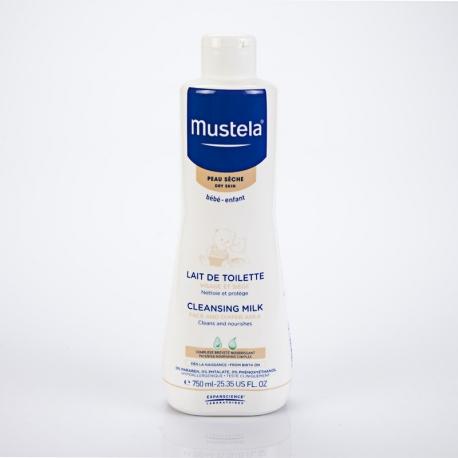 MUSTELA Bébé Lait de Toilette pour peau sèche 750 ml