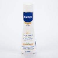 MUSTELA Bébé Lait de Toilette Visage et Siège au Cold Cream 200 ml